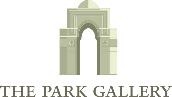 The logo of The Park Gallery, an Arch