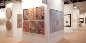 Abu Dhabi Art 2019 booth