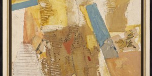 Mixed media, 1990 62 x 50 cm